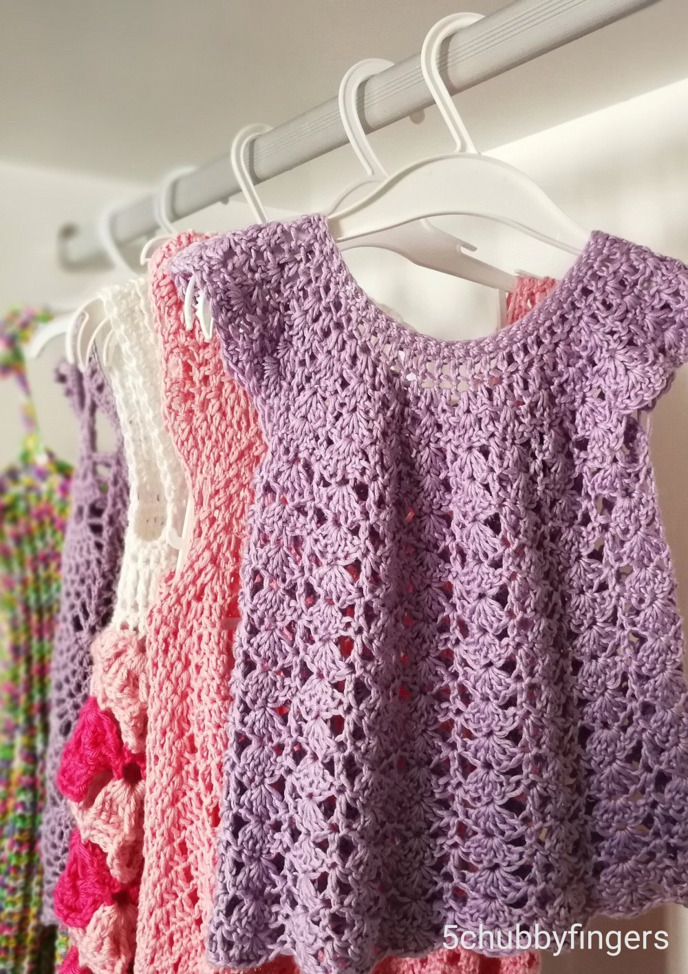 5 Beautiful Crochet Dresses For Little Ladies Free Patterns Five